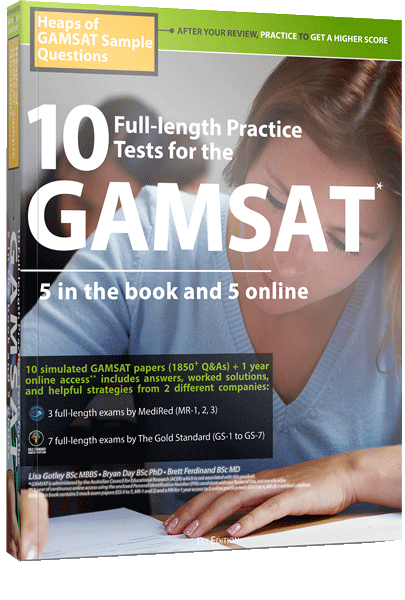 GAMSAT Question of the Day: GAMSAT Practice Questions | Gold