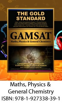 GAMSAT Maths, Physics & General Chemistry