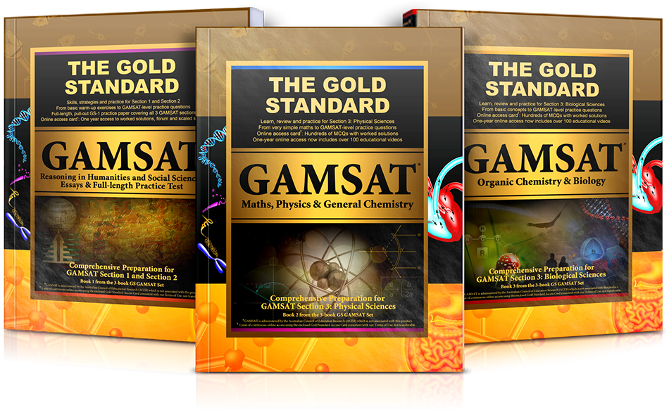 The Gold Standard GAMSAT Preparation (Australia, Ireland, UK)