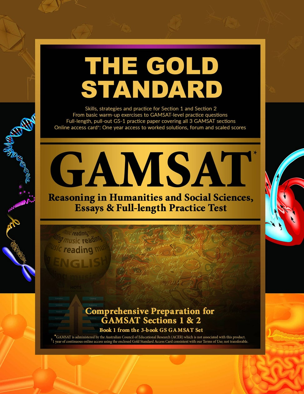 GAMSAT Section 1, Section 2 &  Mock Exam