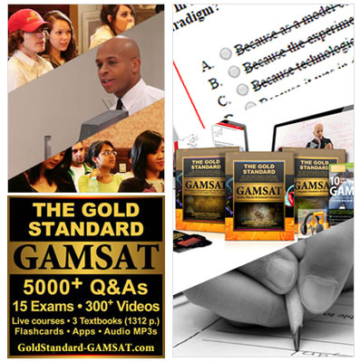 Gold Standard Complete GAMSAT Course (GAMSAT Score Guarantee)