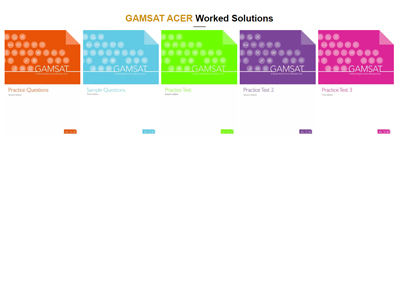Worked Solutions To ACER'S GAMSAT Practice Questions